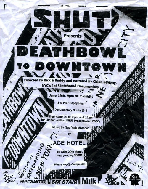 Deathbowl to Downtown Screening at the Ace Hotel