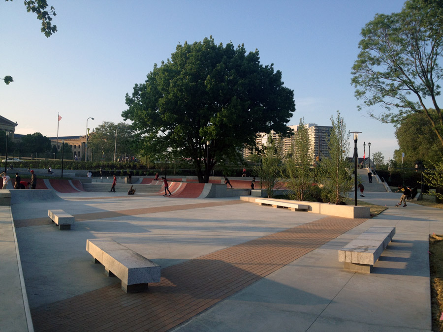 A First Look At Paine S Skatepark In Philadelphia