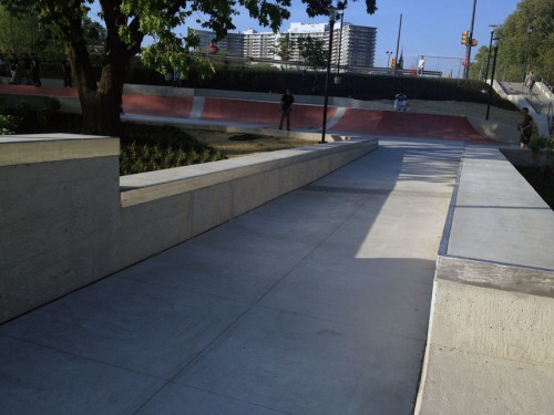 metal ledges