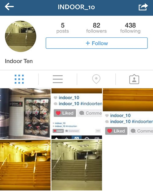 indoor ten ig