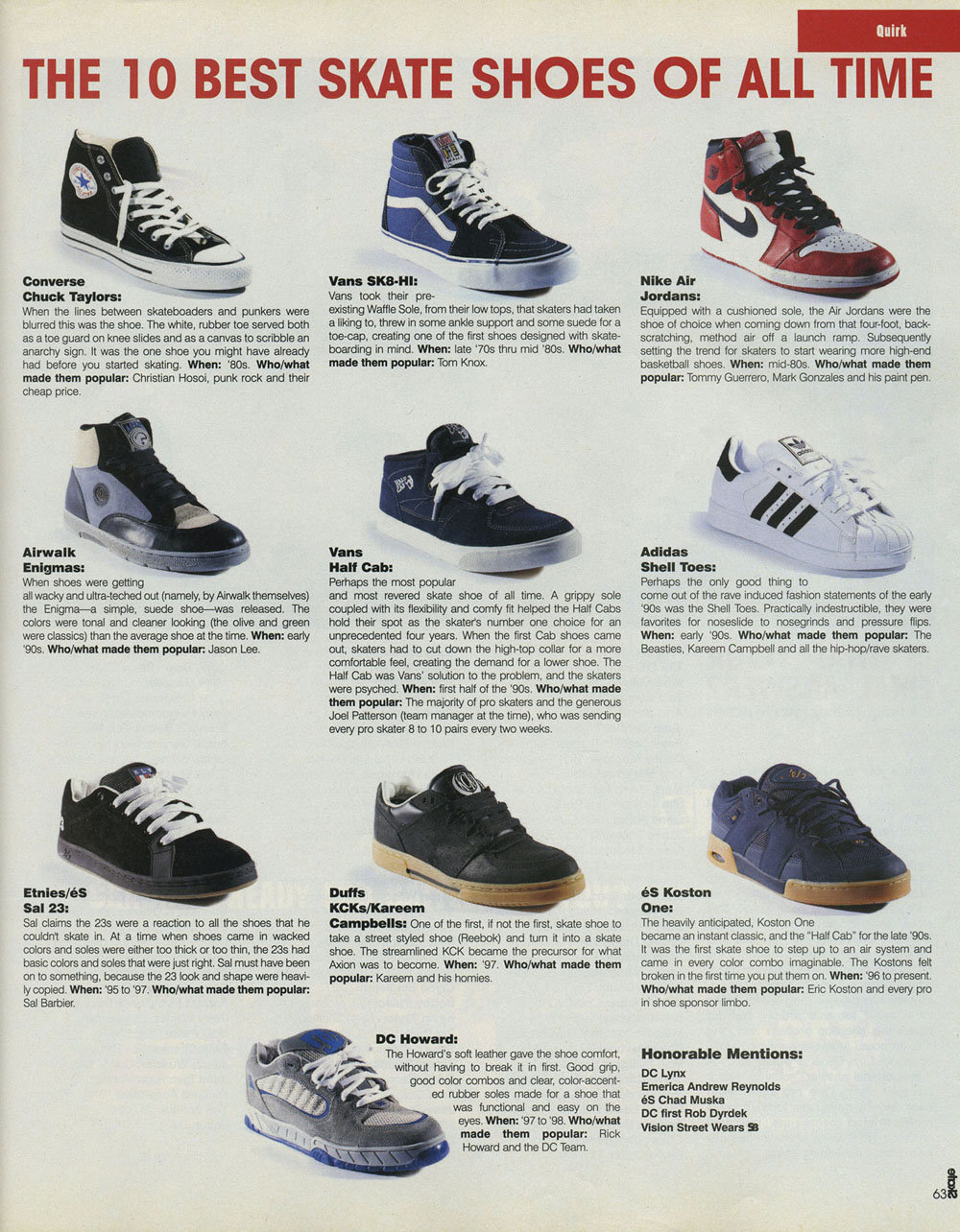 This Is What Skate Shoes Looked Like Ten Years Ago Quartersnacks Com
