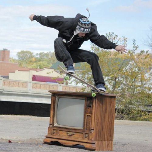wood tv crook