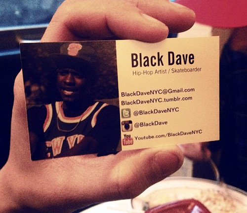 bd business card