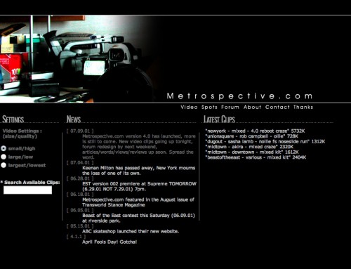 metrospective screenshot 2