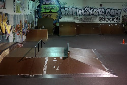 drop in skatepark rip